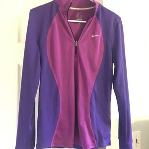 Nike Athletic Zip-up